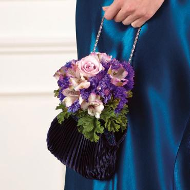 Bridesmaid Purse Bouquet